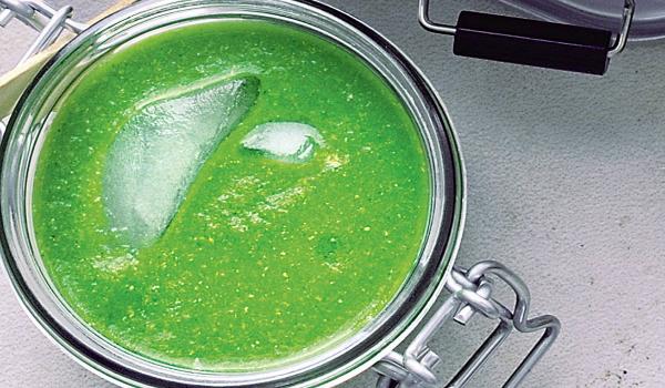 Snelle groene gazpacho